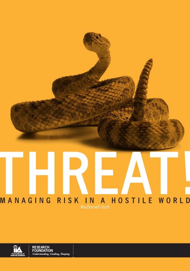 Threat Book Cover Concept