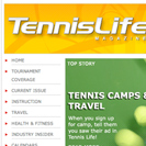 Tennis Life Website